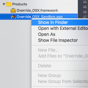 Application Product Show In Finder