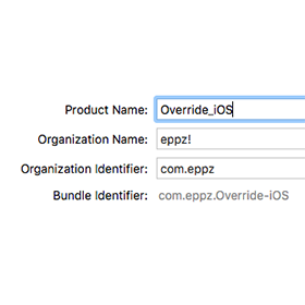Create Override iOS Static Library