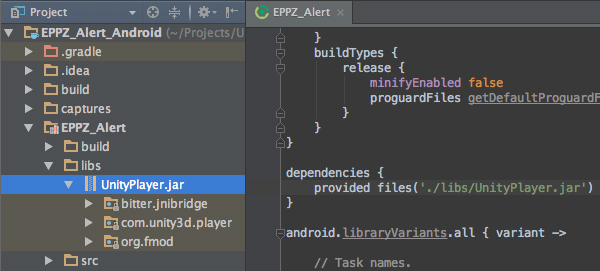 Unity Android plugin tutorial (3/3) Class architecture - eppz!
